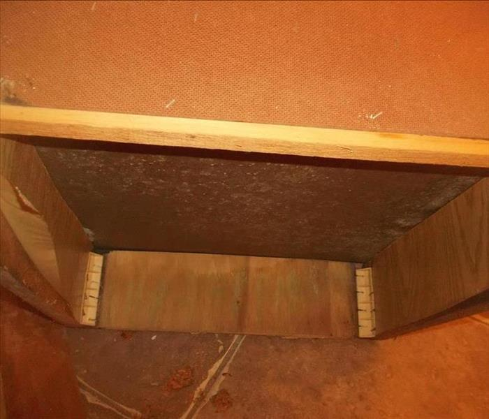 Mold Damage in Albuquerque New Mexico Before