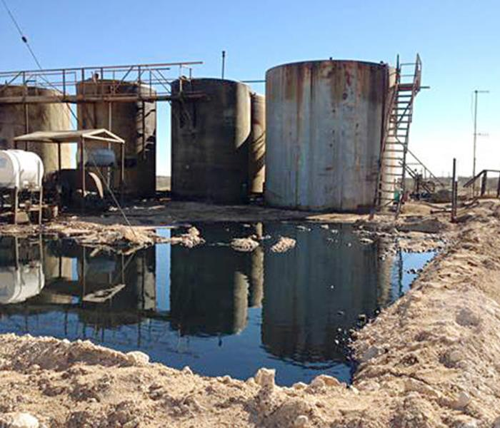 Water Damage NM tells oil company to clean up spill