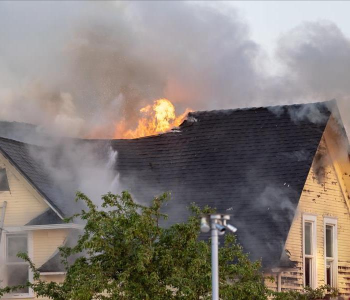 This Albuquerque Area Home has suffered significant Fire Damage.